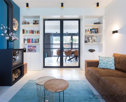 lounge kamer betonnenvloer