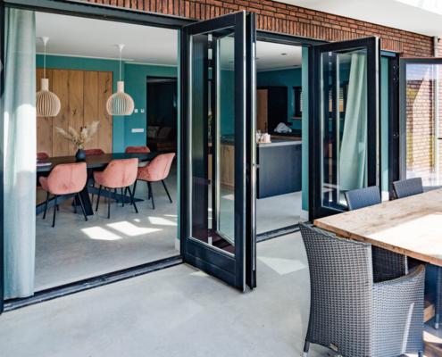interieur betonvloer voor keuken en terras