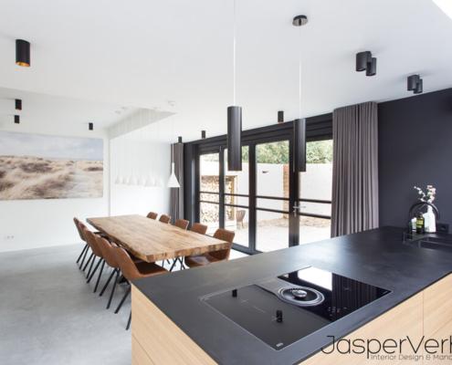 industriele uitstraling betonvloer keuken