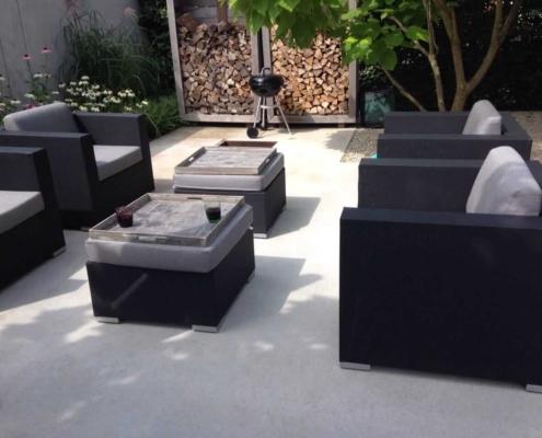 luxe terrasvloer van beton