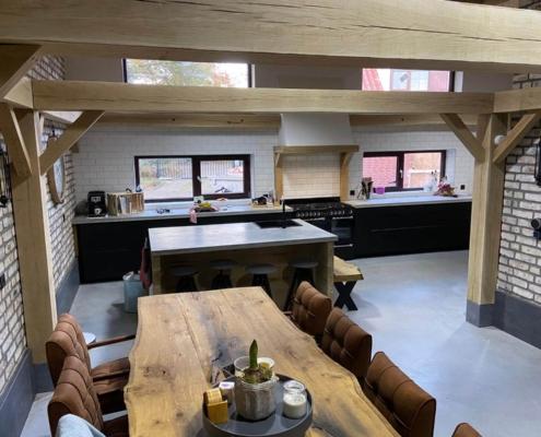 keuken betonvloer modern en grijs