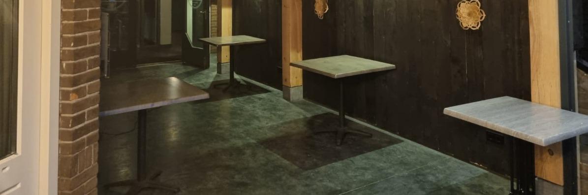 Terras betonvloer aanleggen in Vorstenbosch Smook